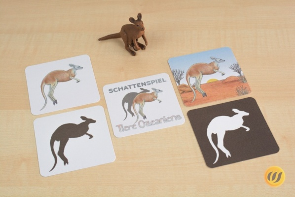 "Shadow-matching ""Animals of Oceania"""